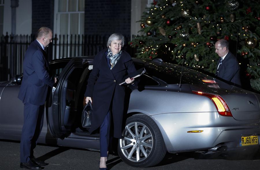 British PM wins confidence vote by big margin