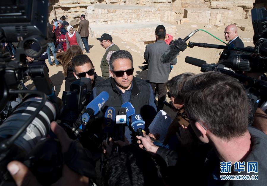(国际)(1)埃及发现距今4400年王室祭司墓葬
