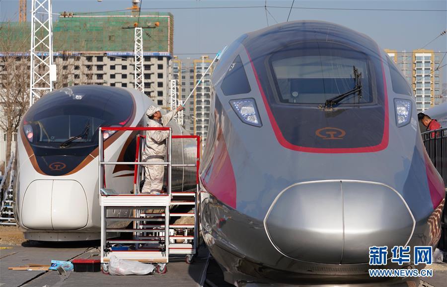 (社会)(1)中国铁路科技创新成就展在京举行