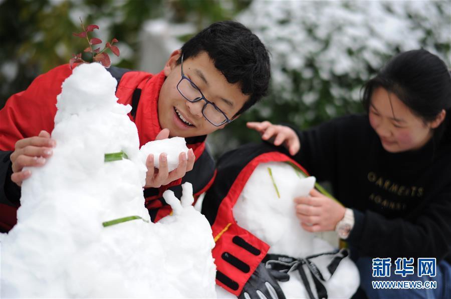 (环境)(1)岁末迎雪