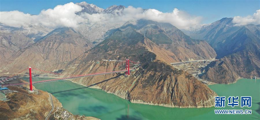 """(经济)(1)川藏""""新干线""""雅康高速公路全线建成并试通车"""