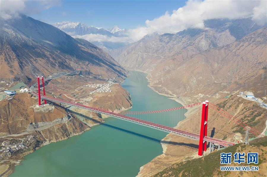 """(经济)(2)川藏""""新干线""""雅康高速公路全线建成并试通车"""