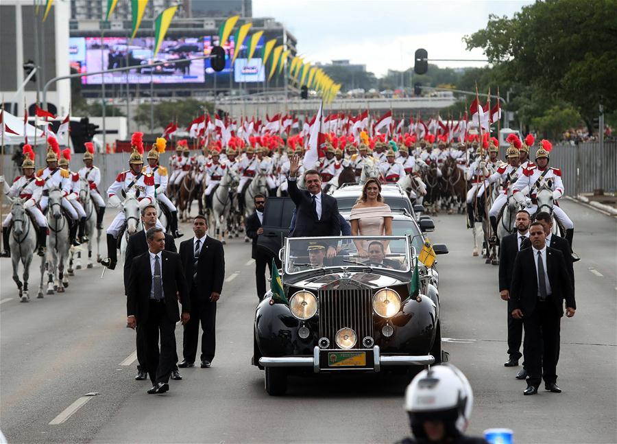 BRAZIL-BRASILIA-PRESIDENT-ELECT-JAIR BOLSONARO-INAUGURATION