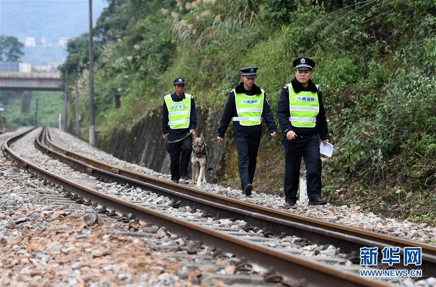 (社会)(1)中越国际客运列车十年的平安守护