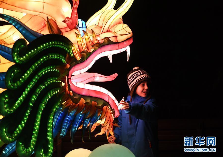 (国际)(1)中国彩灯点亮科隆冬夜