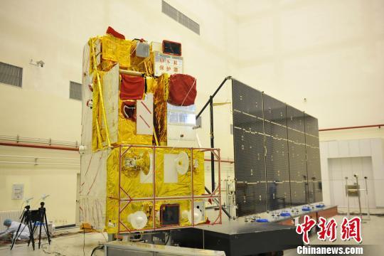 The Gaofen-5 satellite. [File photo: Chinanews.com]