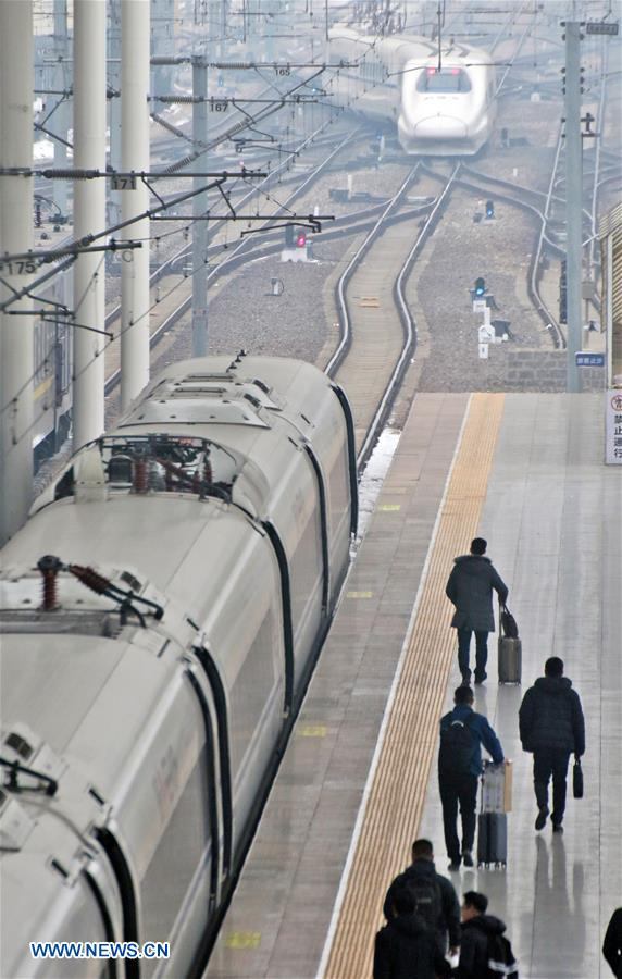 CHINA-NEW TRAIN DIAGRAM-UNVEILED (CN)
