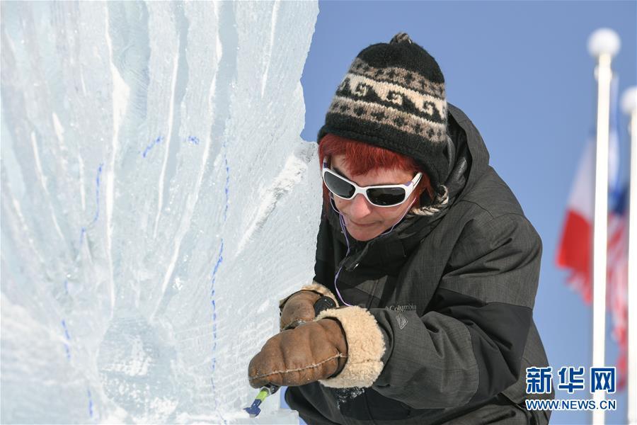 (社會)(2)第33屆哈爾濱國際冰雕比賽開鏟