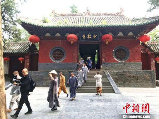 File photo of Shaolin Temple. (China News Service)