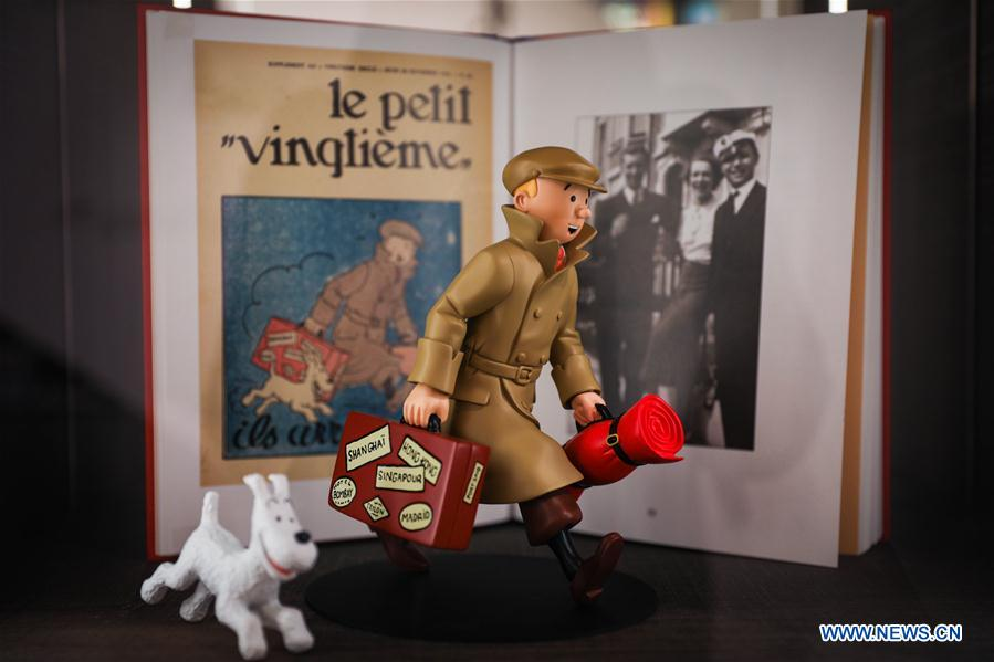"90th anniversary of ""The Adventures of Tintin"" celebrated in Belgium"