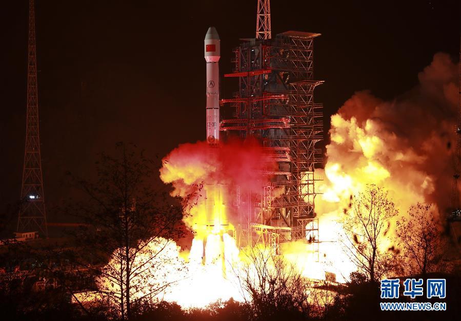 """(科技)(1)""""中星2D""""卫星成功发射 中国航天2019年实现开门红"""