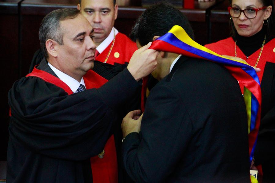 VENEZUELA-CARACAS-NICOLAS MADURO-PRESIDENTIAL INAUGURATION