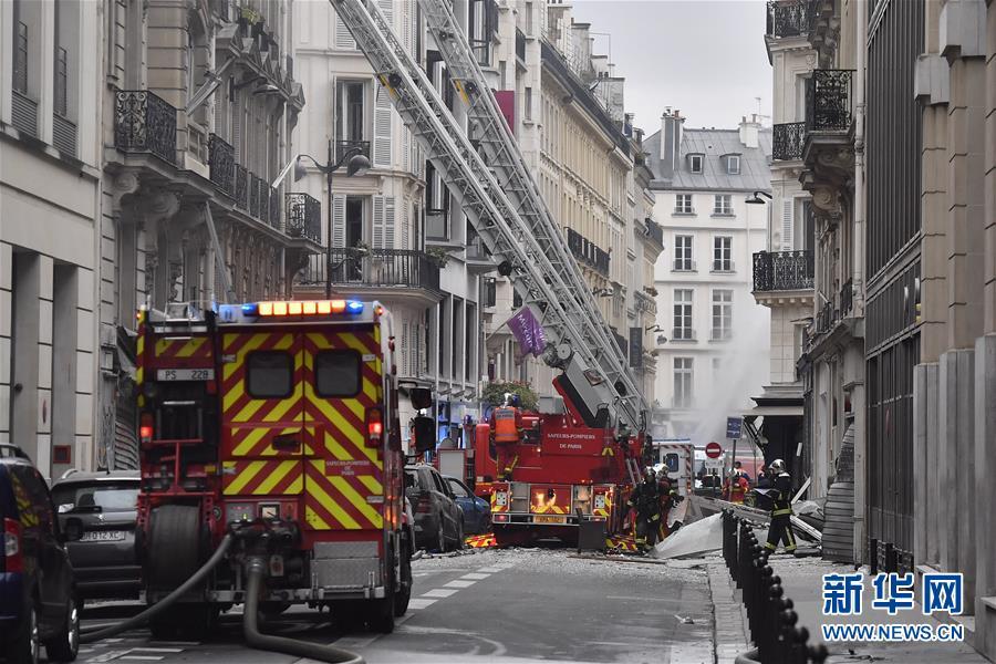 巴黎发生一起爆炸导致20多人受伤