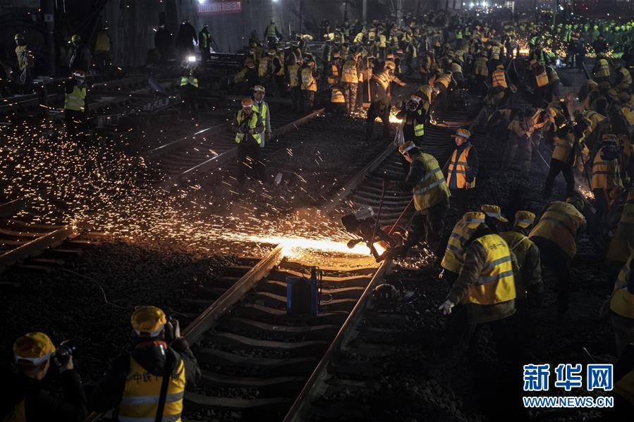 (社会)(2)西安火车站改扩建工程进入主体工程实施阶段