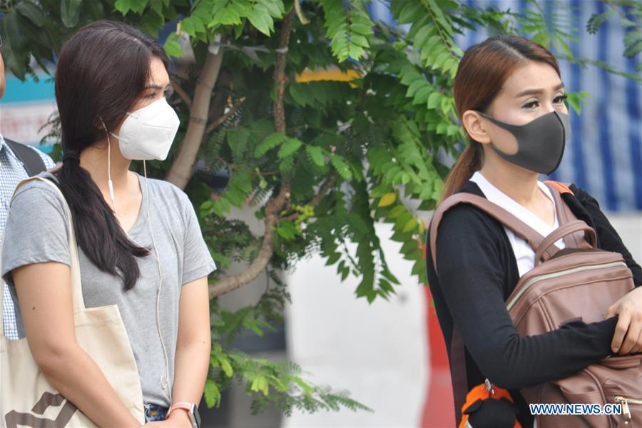 Fine particle matter in air reaches hazardous levels in Thailand's Bangkok
