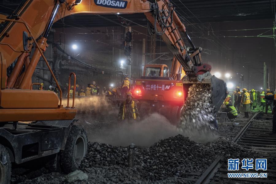 (社会)(6)西安火车站改扩建工程进入主体工程实施阶段