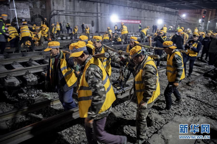 (社会)(3)西安火车站改扩建工程进入主体工程实施阶段