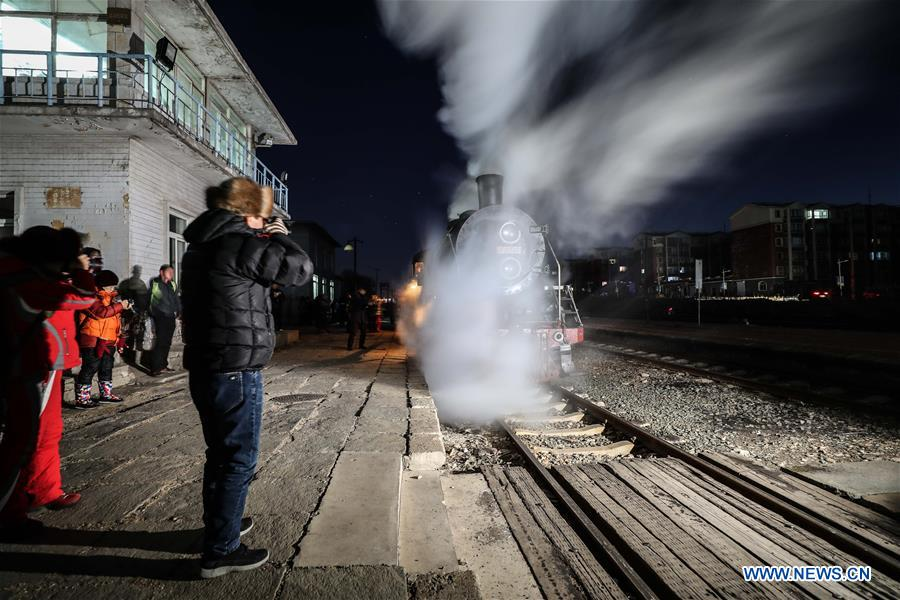 5-day steam locomotive tourism event kicks off in Diaobingshan, NE China