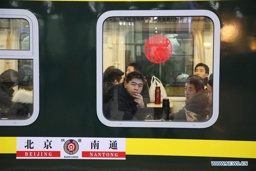 Spring Festival travel rush begins in China