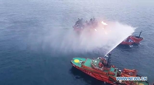 10 died in Kerch Strait ship fire