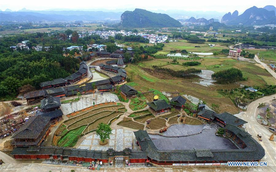 Shuanglonggou Forest Tourist Resort provides cosy dwellings, job opportunities for impoverished households in Guangxi