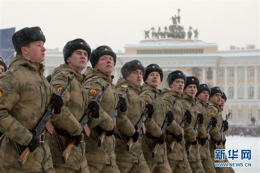 (国际)(6)圣彼得堡纪念列宁格勒完全解除封锁75周年