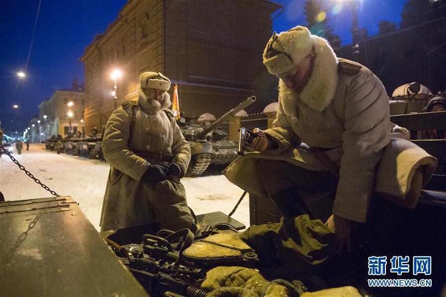 (國際)(3)聖彼得堡紀念列寧格勒完全解除封鎖75周年