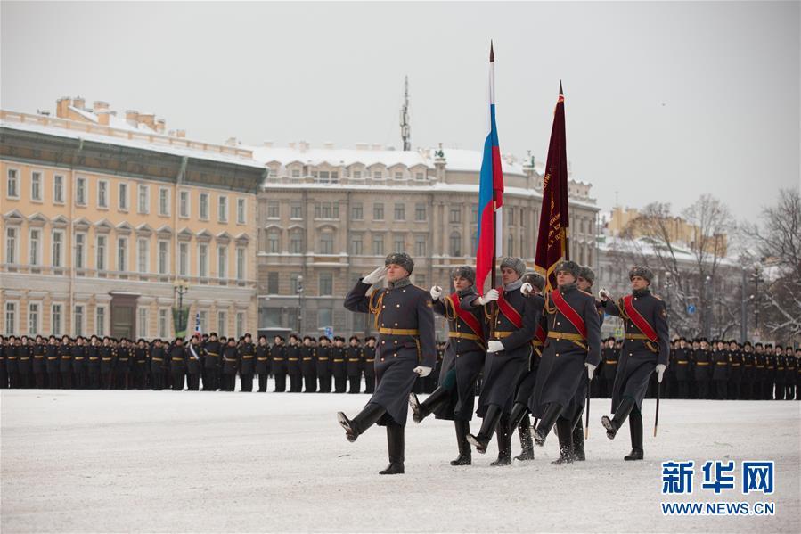 (国际)(5)圣彼得堡纪念列宁格勒完全解除封锁75周年