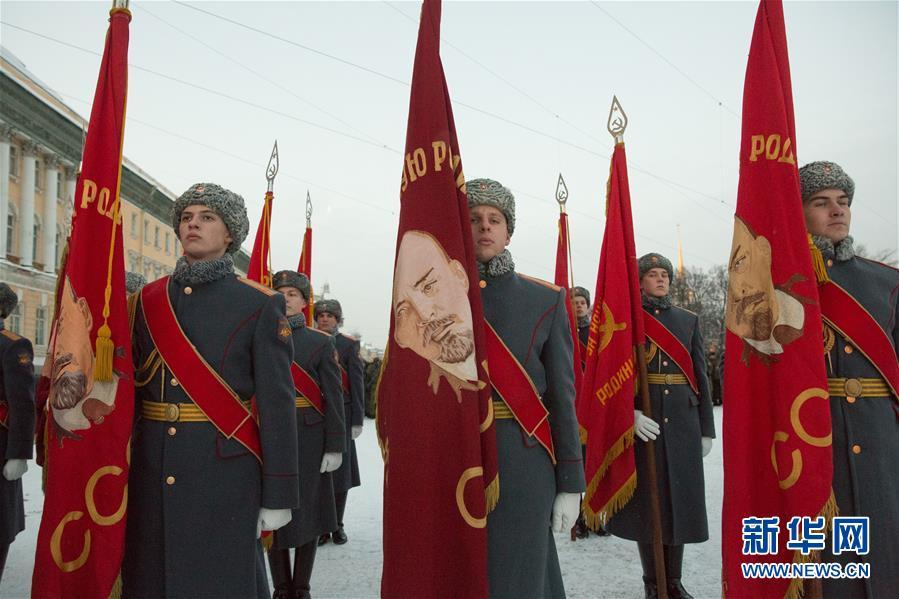(國際)(2)聖彼得堡紀念列寧格勒完全解除封鎖75周年
