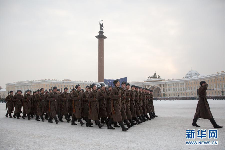 (国际)(4)圣彼得堡纪念列宁格勒完全解除封锁75周年