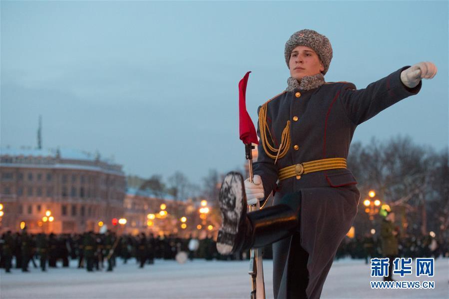 (国际)(1)圣彼得堡纪念列宁格勒完全解除封锁75周年