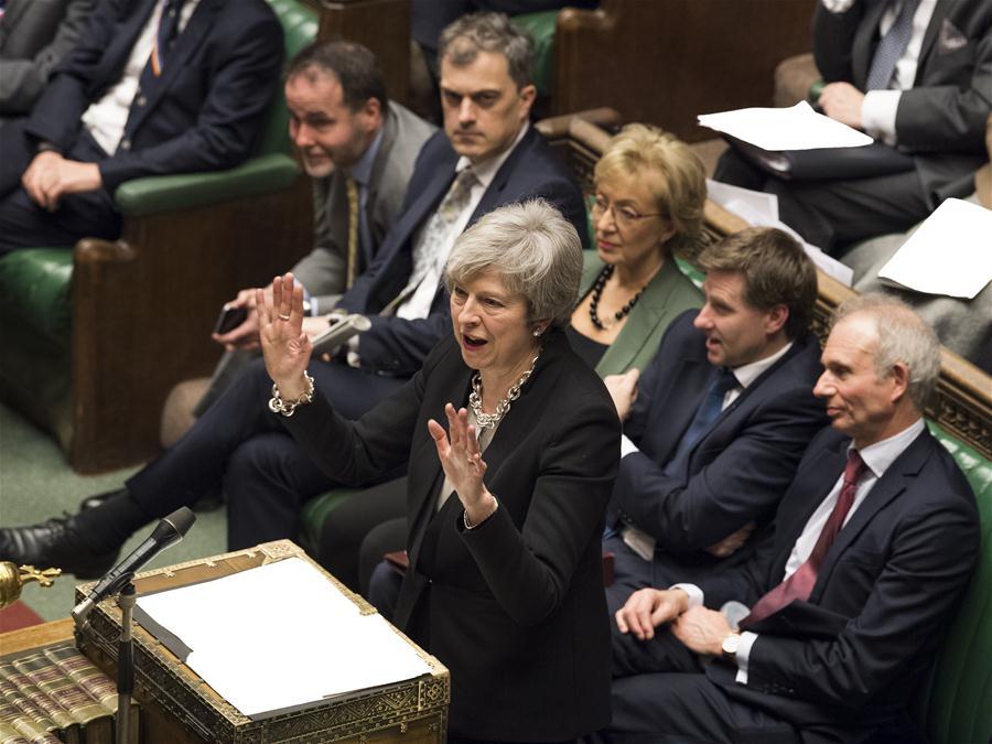 BRITAIN-LONDON-BREXIT DEAL AMENDMENTS-DEBATE