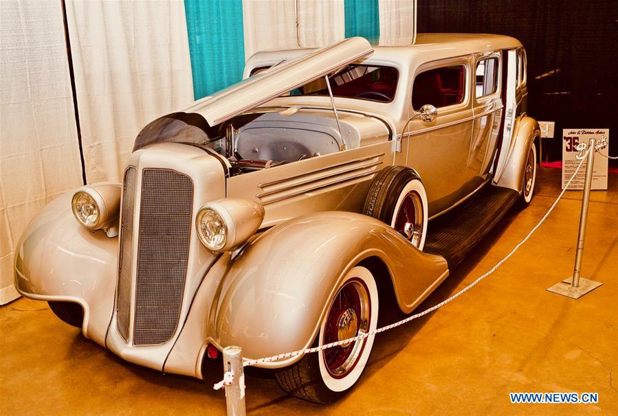 U.S.-ALBUQUERQUE-CAR SHOW