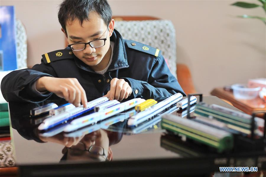 In pics: bullet train mechanic loves making and collecting