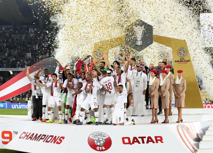 (SP)UAE-ABU DHABI-SOCCER-AFC ASIAN CUP 2019-FINAL-JPN VS QAT