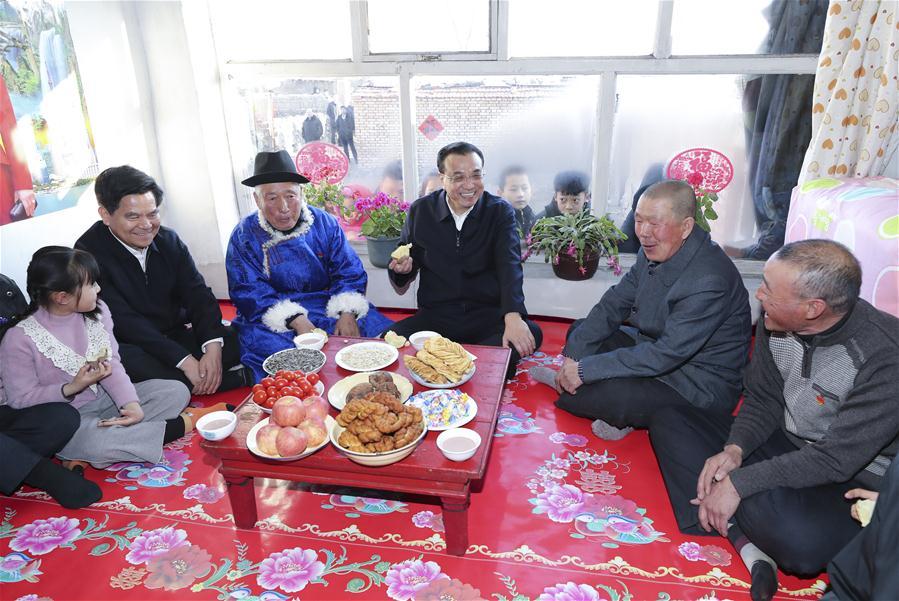 CHINA-INNER MONGOLIA-ULANQAB-LI KEQIANG-INSPECTION (CN)