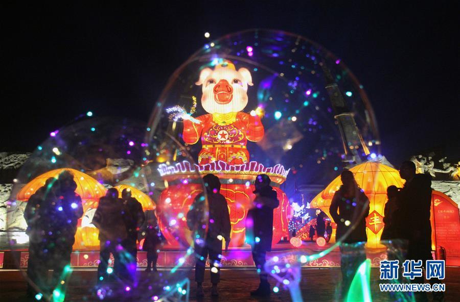 #(社會)(4)賞璀璨夜景 度新春佳節