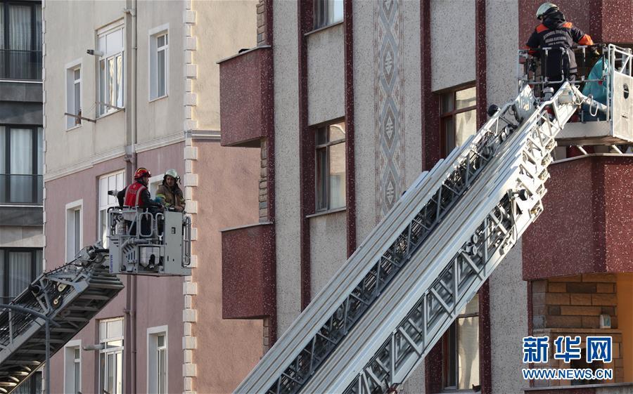 (国际)(1)土耳其居民楼倒塌事故死亡人数升至21人
