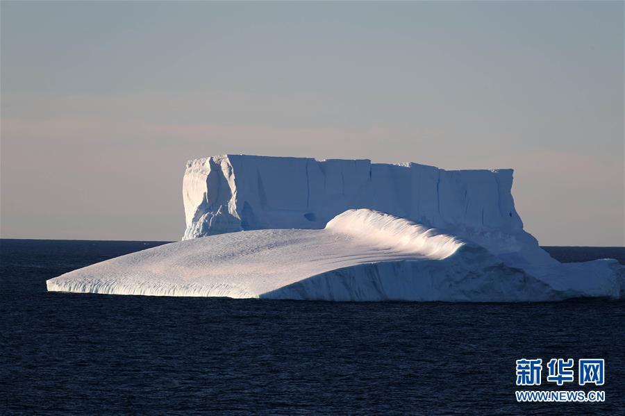 (第35次南极科考)(10)中国南极中山站附近的冰盖、冰川与冰山
