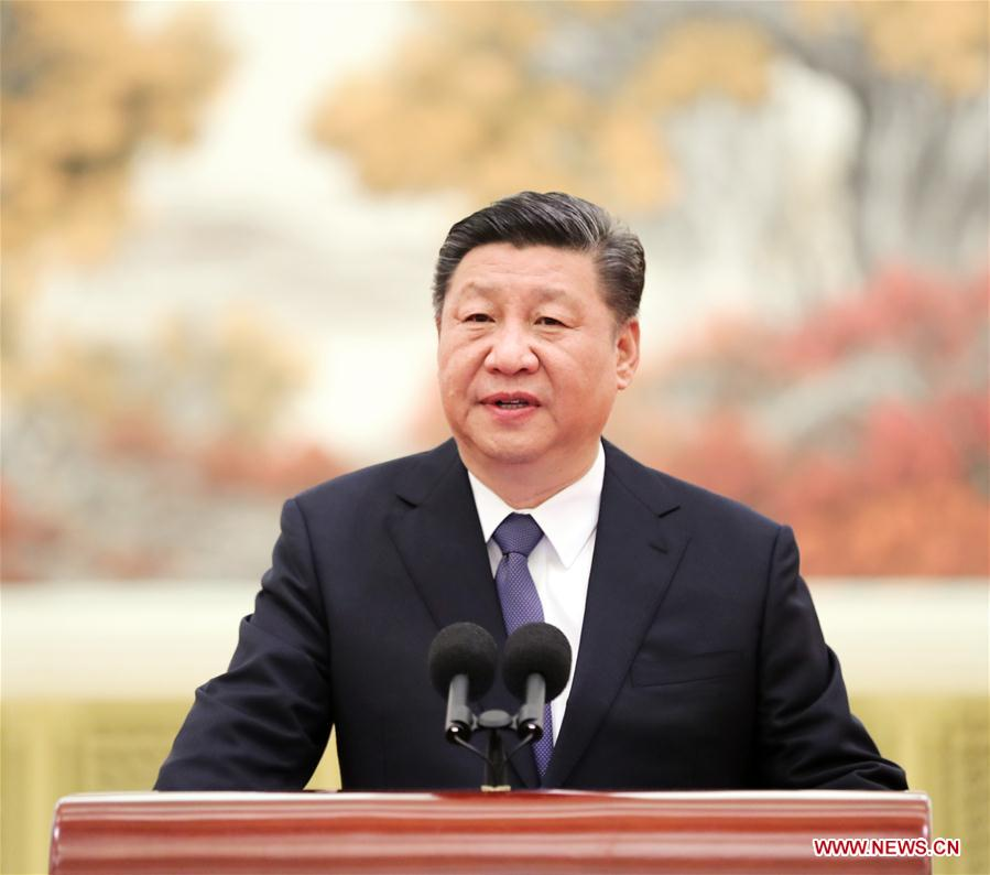 CHINA-BEIJING-XI JINPING-CHANG'E-4 MISSION-REPRESENTATIVES-MEETING (CN)