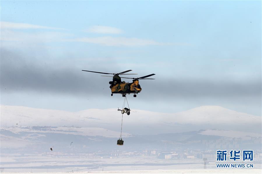 (国际)(1)多国联合军事演习在土耳其举行