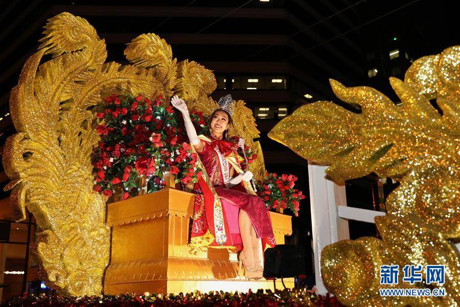 (国际)(4)旧金山举行中国农历新年大巡游