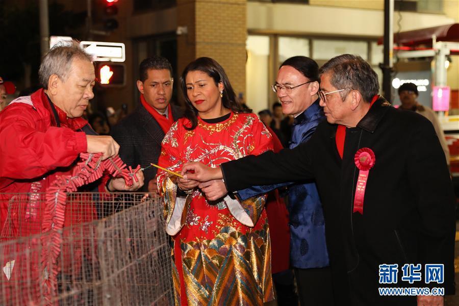 (国际)(3)旧金山举行中国农历新年大巡游