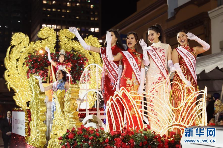 (国际)(2)旧金山举行中国农历新年大巡游