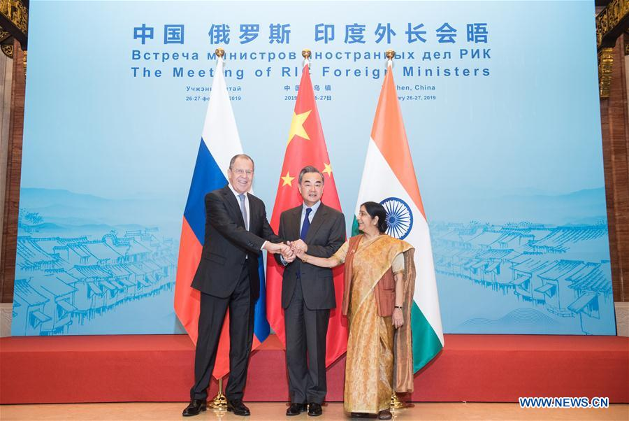 CHINA-RUSSIA-INDIA-FOREIGN MINISTERS-MEETING (CN)