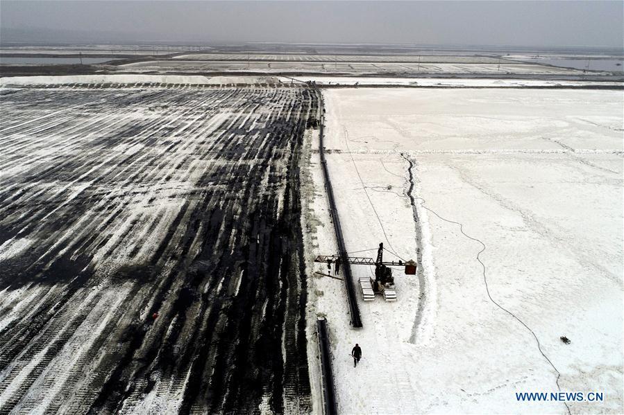 CHINA-SHANXI-YUNCHENG-SALT LAKE (CN)