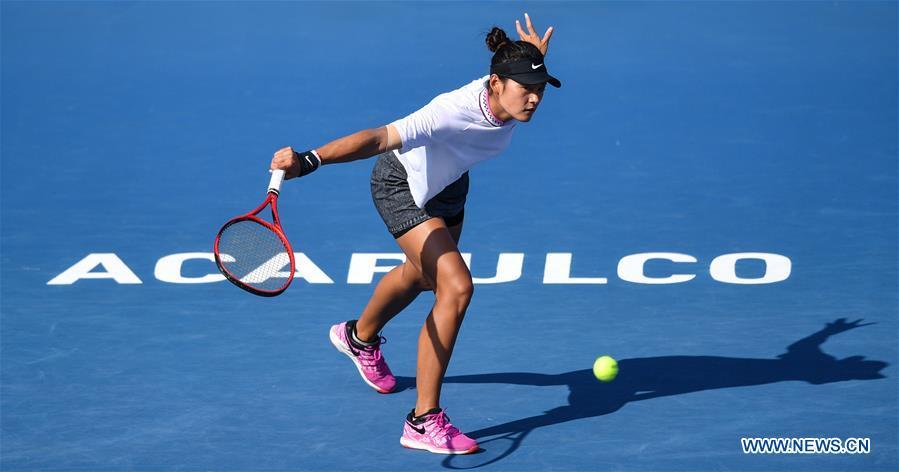 (SP)MEXICO-ACAPULCO-TENNIS-WTA-MEXICAN OPEN