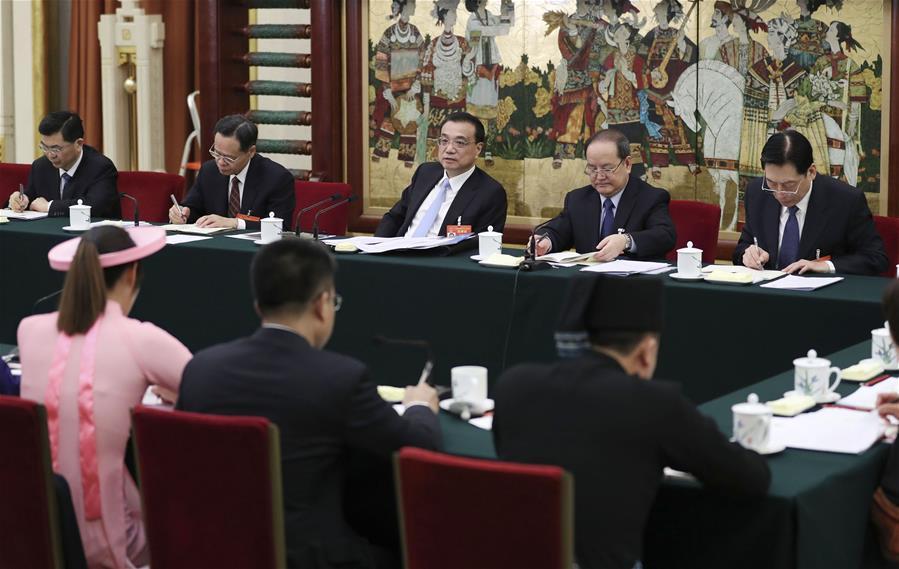 (TWO SESSIONS)CHINA-BEIJING-LI KEQIANG-NPC-PANEL DISCUSSIONS (CN)