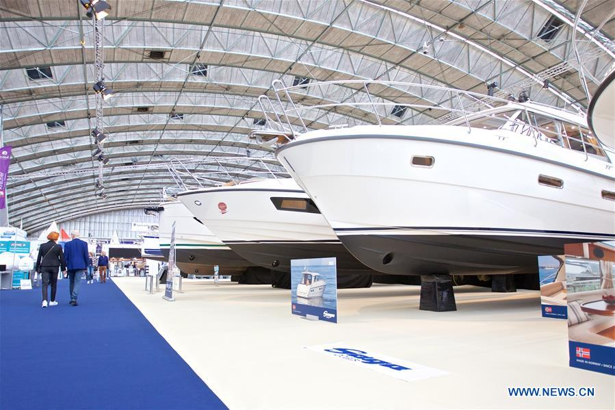 THE NETHERLANDS-AMSTERDAM-BOAT-SHOW