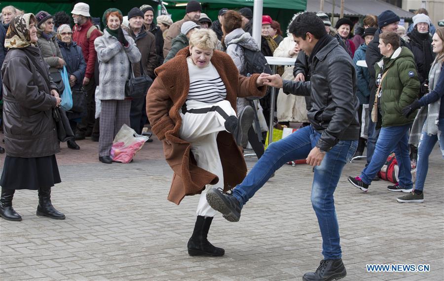 LATVIA-RIGA-WOMEN'S DAY